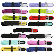 Replacement Silicon Bracelet Strap For Garmin Forerunner 220/230/235/620/630