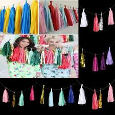 Wedding Party Tissue Paper Tassel Hanging Garland Party Home Decor