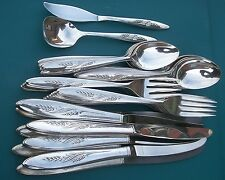 SONG OF AUTUMN BuY the Piece Oneida Community 1960 Silverplate Flatware