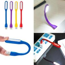 Flexible Mini USB LED Light Lamp For Computer Notebook Laptop Reading Bright >