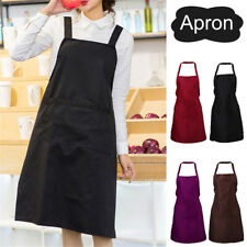 Chef Uniform Women Kitchen Apron Restaurant Baking Cooking Bib Apron Antifouling