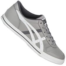 Asics Onitsuka Tiger Aaron d3c3y-1101 Casual Shoes Trainers Leather Gray White