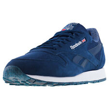 Reebok Classic Leather Nm Mens Trainers Navy White New Shoes