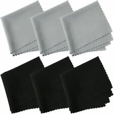 10 Pcs Premium Microfiber Cleaning Cloths for Lens Glasses Screen New
