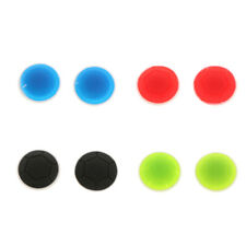 1 Pair Silicone Joystick Thumb Stick Grips Caps for PS4 PS3 Xbox 360/One