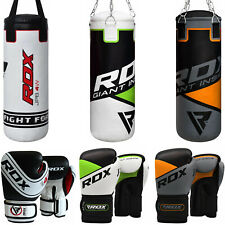 RDX Heavy Bag Punching Bag Boxing Bag Gloves Kids Youth Training Punch Unfilled