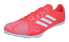 adidas Adizero Ambition 4 Mens Running Athletics Trainers with Spikes - Orange