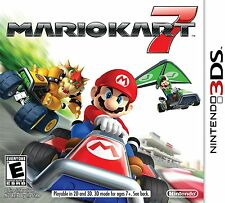 3DS Mario Kart 7 (Nintendo 2011) Car Racing Video Game Brand New Sealed Rated E