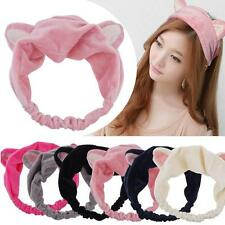 Cat Ears Hairband Head Band Gift Headdress Hair Accessories Makeup Tools T²