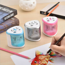 Automatic Two-hole Pencil Sharpener Home School Office Electric Pencil Sharpener