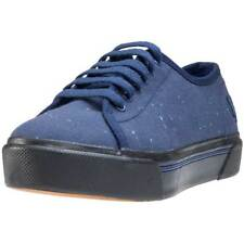Fred Perry Phoenix Flatform Womens Trainers Carbon Blue New Shoes