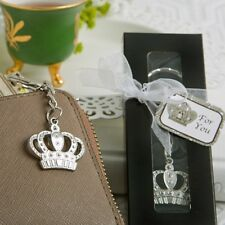 Majestic Crown Key Chains Bridal Shower Favors Keychain Party Favors