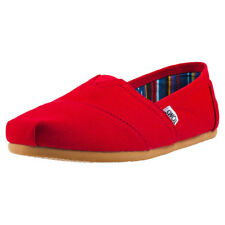 Toms Classic Mens Slip On Red New Shoes