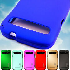 Hard Shell Rubberized Shield Protective Phone Cover Case for ZTE Warp Sync