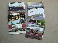 Isle of Man Presentation Packs, Sold Individually, 2004 - 2007, MNH, Mint Stamps