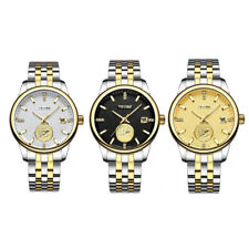 TEVISE Mens Watch Automatic Mechanical Date Waterproof Nautical Theme Wristwatch