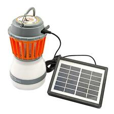 Portable Solar Powered USB LED Mosquitoes Repellent Lamp Light Lantern Outdoor