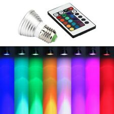 E27 RGB LED 16Color Multicolor Changing Party Disco Lamp Light Bulb IR Remote #n