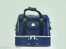 LAWN BOWLS BAG HOLDS 4 BOWLS & GEAR WITH SHOE POCKET CARRY BAG GRIP STYLE