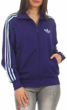 ADIDAS FIREBIRD ADICOLOR Training Jacket Ladies Purple Sports NEW p01579