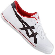 Asics Onitsuka Tiger Aaron Ladies Shoes Casual Sneaker White Brown Red 38 39
