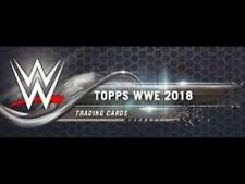2018 Topps Wrestling WWE Base and Bronze Cards Pick From List 1-100