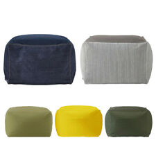 "26"" Bean Bag Cover Footstool Slip Cover Home Toys Clothes Pillow Storage Bag"