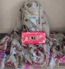 LYDC butterfly Purse with Gift Box and Butterfly Print Scarf-Gift Idea