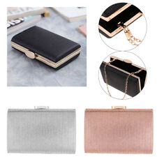 Women Shiny Surface Clutch Hand Bag Purse Wallet Handbag for Wedding Party
