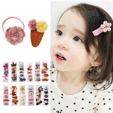 5PCS Crown Hair Clip Hairpin Baby Girls Kids Barrette Rope Sides Accessories