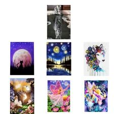 Fairy Flower DIY 5D Diamond Painting Embroidery Cross Crafts Stitch Art Kit
