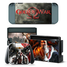 God of War PVC Protective Decal Skin Sticker For NS Nintendo Switch Console
