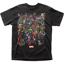 Marvel Comics Universe Captain America Hulk Spider-Man Superman T Shirt MRVL10