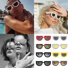 Women's Men's Vintage Retro Designer Flat Lens Sunglasses Eye Glasses Eyewear