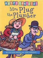 NEW - MRS PLUG the PLUMBER  - HAPPY FAMILIES by Allan Ahlberg (original cover)