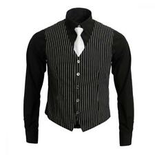 1920s Adult Men's Gangster Shirt, Vest and Tie Costume Accessories Set...