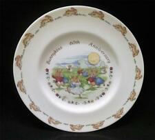 Royal Doulton Dancing in the Moonlight Bunnykins 60th Anniversary Salad Plate