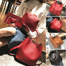 Womens PU Leather Handbag Cross Body Shoulder Tote Purse Satchel Messenger Bags
