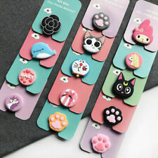 Cute Phone Holder Expanding soft Stand Hand Grip Mount For iPhone Samsung Huawei