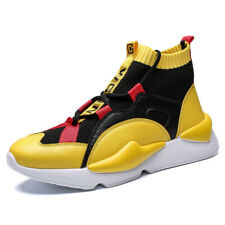 Men's Fashion Athletic Sneakers Casual Running Sport High Top Basketball Shoes