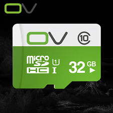OV 32GB Micro SD SDHC Class10 Memory Card TF Read 80MB/s Optional Adapter Bundle