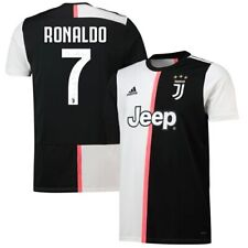 adidas Cristiano Ronaldo Juventus Black 2019/20 Home Replica Player Jersey