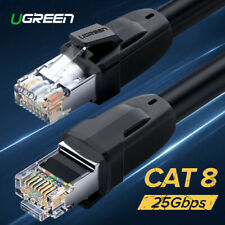 Ugreen Cat8 Cat7 Ethernet Cable RJ45 Twisted Pairs Network UTP Lan PatchCord Lot