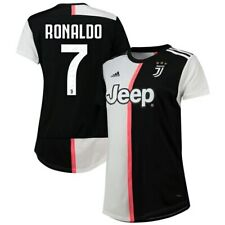 adidas Cristiano Ronaldo Juventus Women's Black 2019/20 Home Replica Player