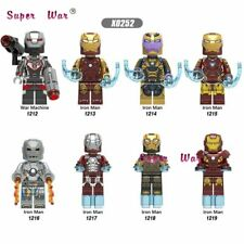LEGO Marvel Super Heroes Avengers 4 Endgame War Machine Iron Man blocks Kid Toys