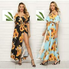 Party Summer Dress Sundress Evening Beach Long Beach Boho Women Maxi Cocktail