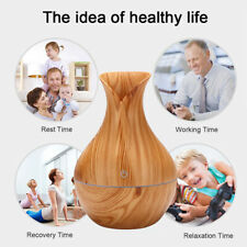 USB LED Ultrasonic Aroma Humidifier Essential Oil Diffuser Fragrant Aromatherapy