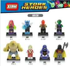 Mini Kinder DC negativer Super Hero Killer Croc Robin Red Hood Saturn Girl 8PCS