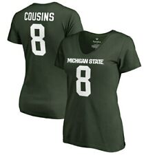 Fanatics Branded Kirk Cousins Michigan State Spartans Women's Green College