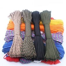 Paracord 550 Rope Type III 7 Stand 100ft 50ft Survival Kit Diy Strands Camping
